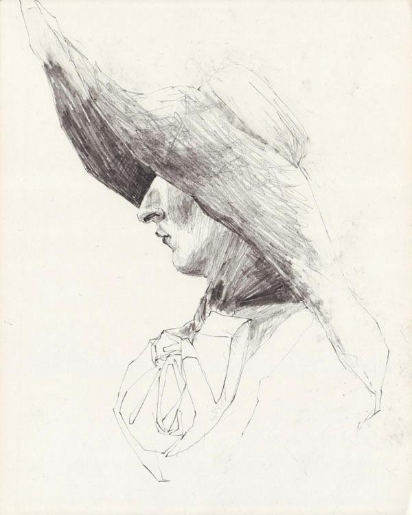 Emilie mit Hut