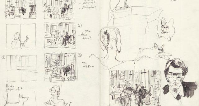 Sketching Tante Karo